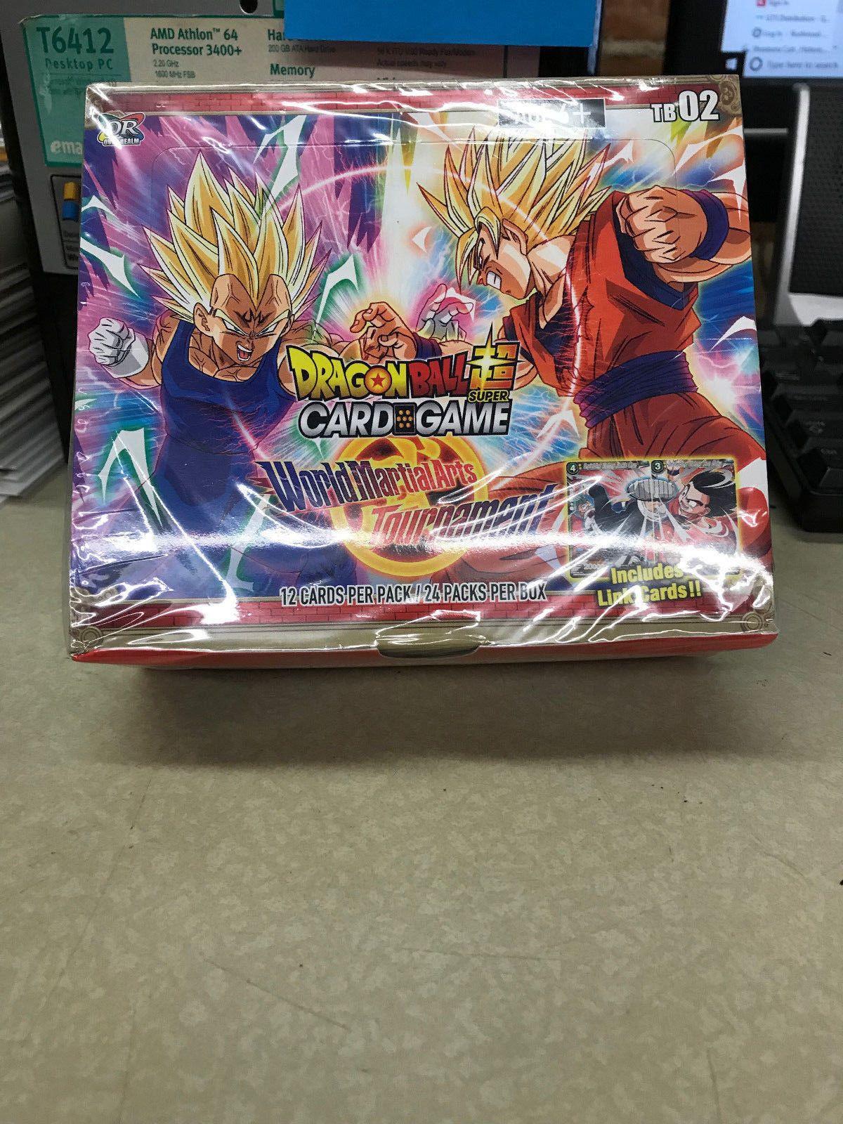 NEW SEALED Dragon Ball Super World Martial Arts Tournament Booster Box