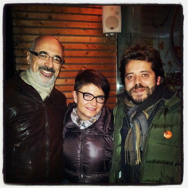 with Alberto Testoni (seo specialist) e Sergio Ravera (CEO Artera Srl) #friend #work :-D #partners