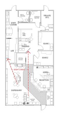 optometric office design ideas november 2007 optometry design