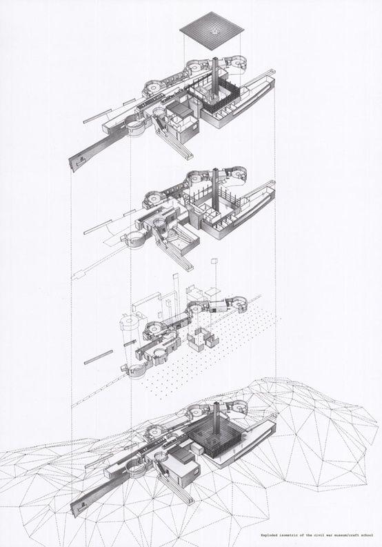 Otaku Gangsta Photo Diagram Architecture Architecture Collage Architecture Sketch