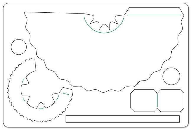 Printable 3d Paper Tea Cup Template Paper Art Tutorial Paper Tea Cups Tea Crafts