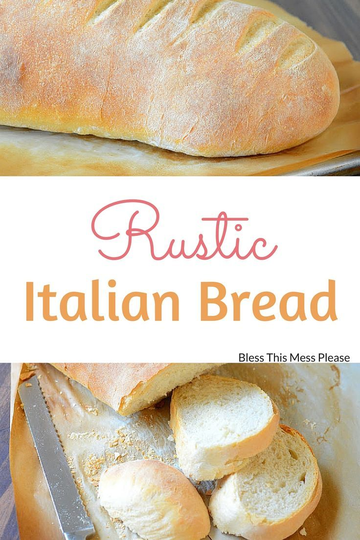 Rustic Italian Bread Recipe Rustic Italian Bread Italian Bread Recipes Italian Bread