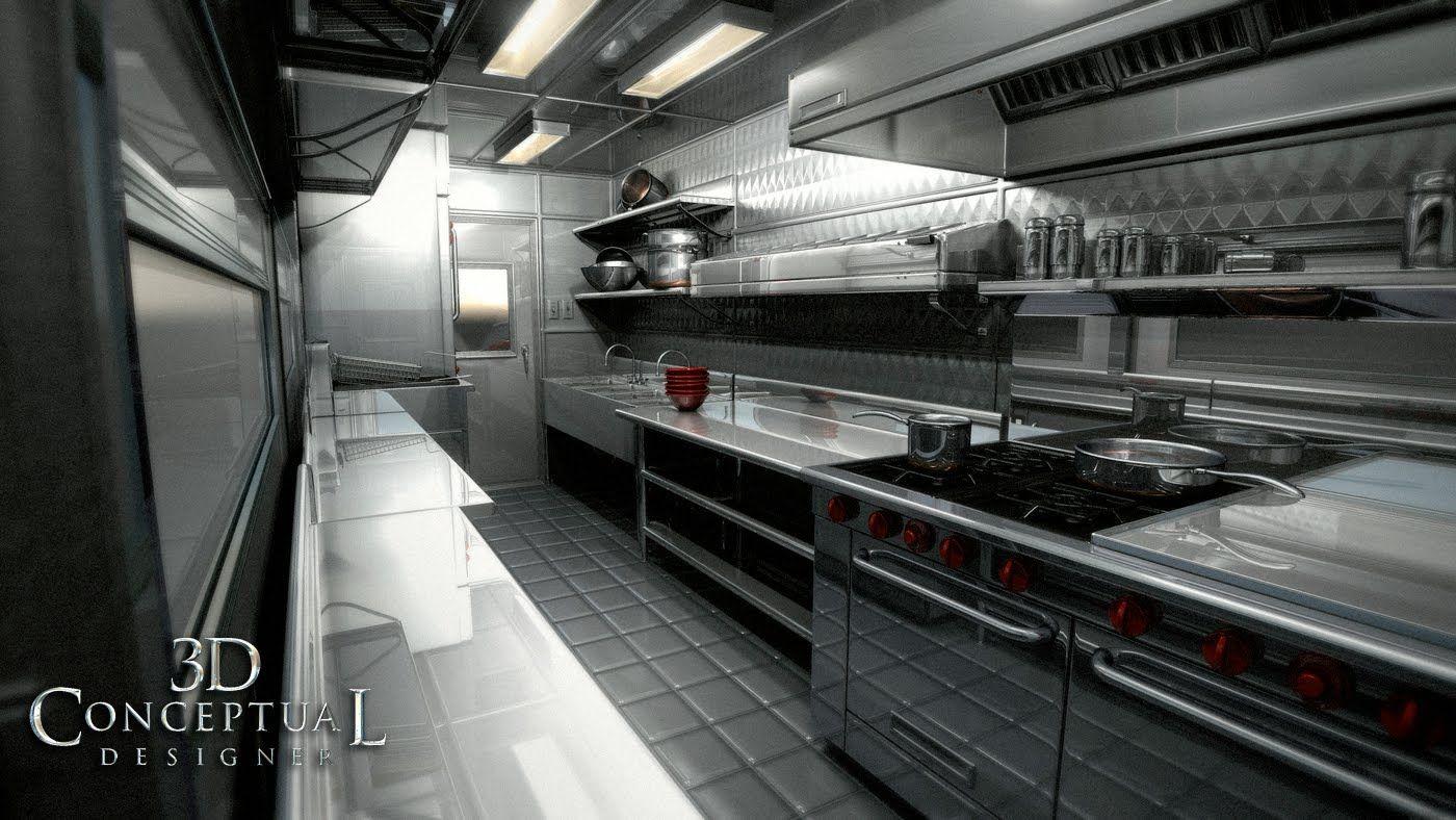 Food truck kitchen design dconceptualdesigner
