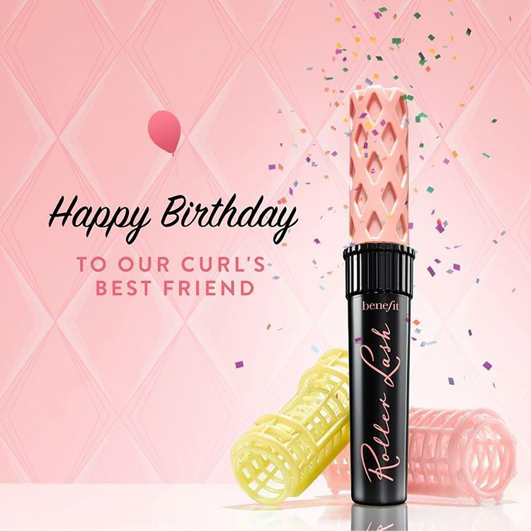 ea460d6ec45 Happy Birthday Rollerlash! Thanks for keeping our lashes happy and  separated :-)