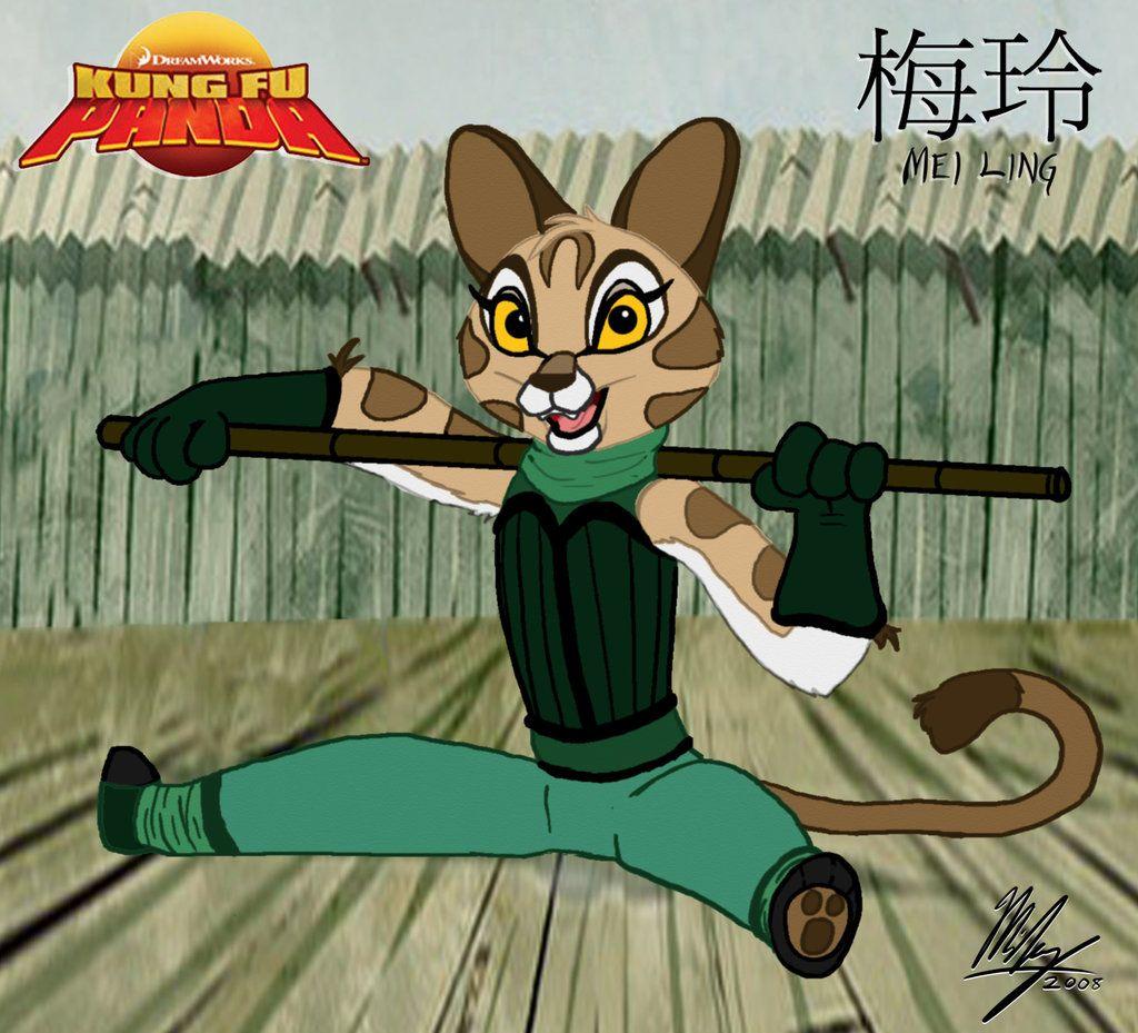 Kung Fu Panda - Mei Ling by Stitchfan.deviantart.com on @deviantART