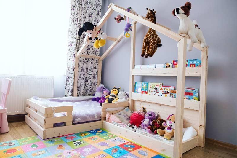 Montessori Bett Inspirationen Zum Einbringen Der Mobel In Die