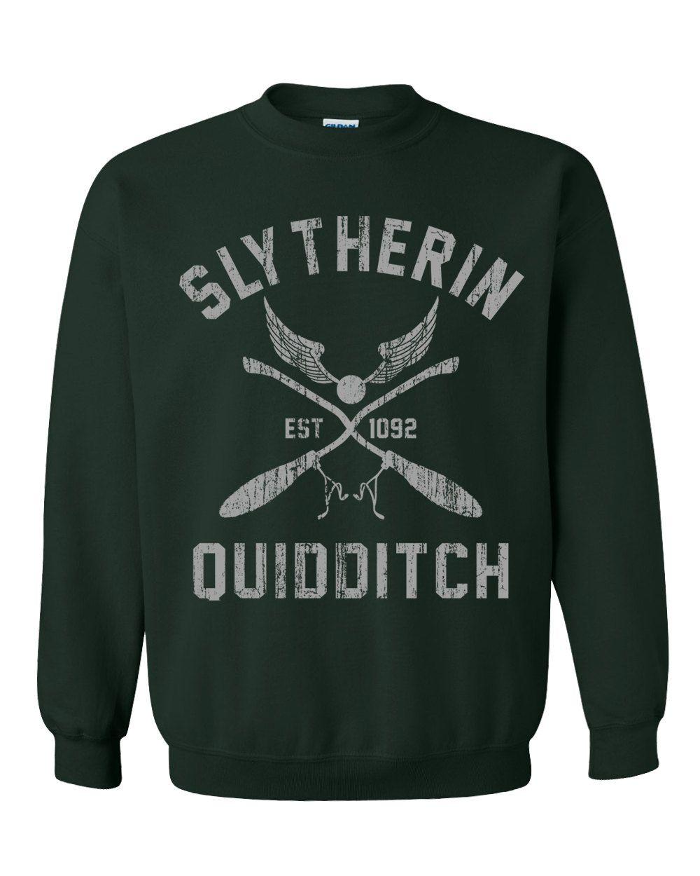 Slytherin Sweatshirt Harry Potter Sweatshirt Slytherin T Shirt Harry Pottter T Shirt Quidditch Shirt Ravencl Sweatshirts Quidditch Shirt Crew Neck Sweatshirt [ 1250 x 1000 Pixel ]