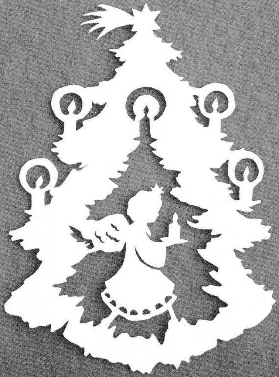 Stromek s andělíčkem