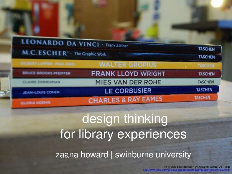 Article Design thinking for library experiences Student