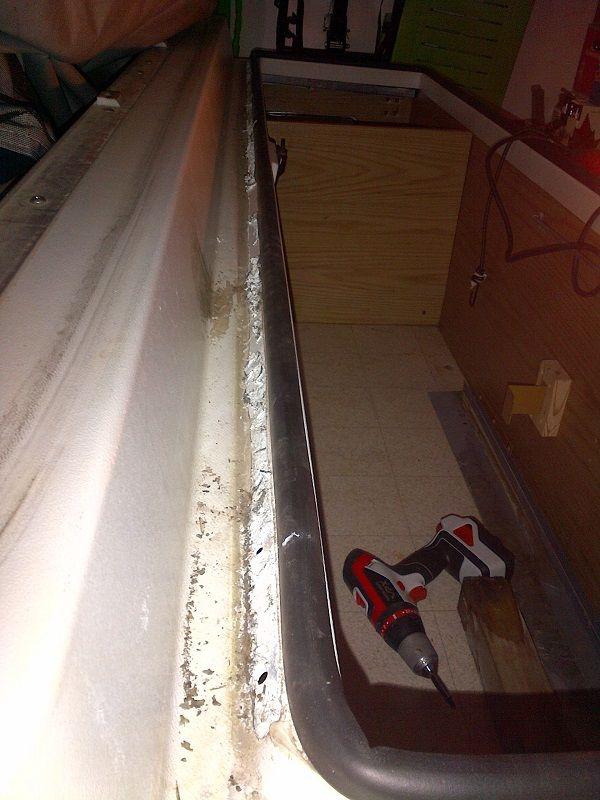 Front Storage Box Repair Popup Camper Remodel Coleman Pop Up