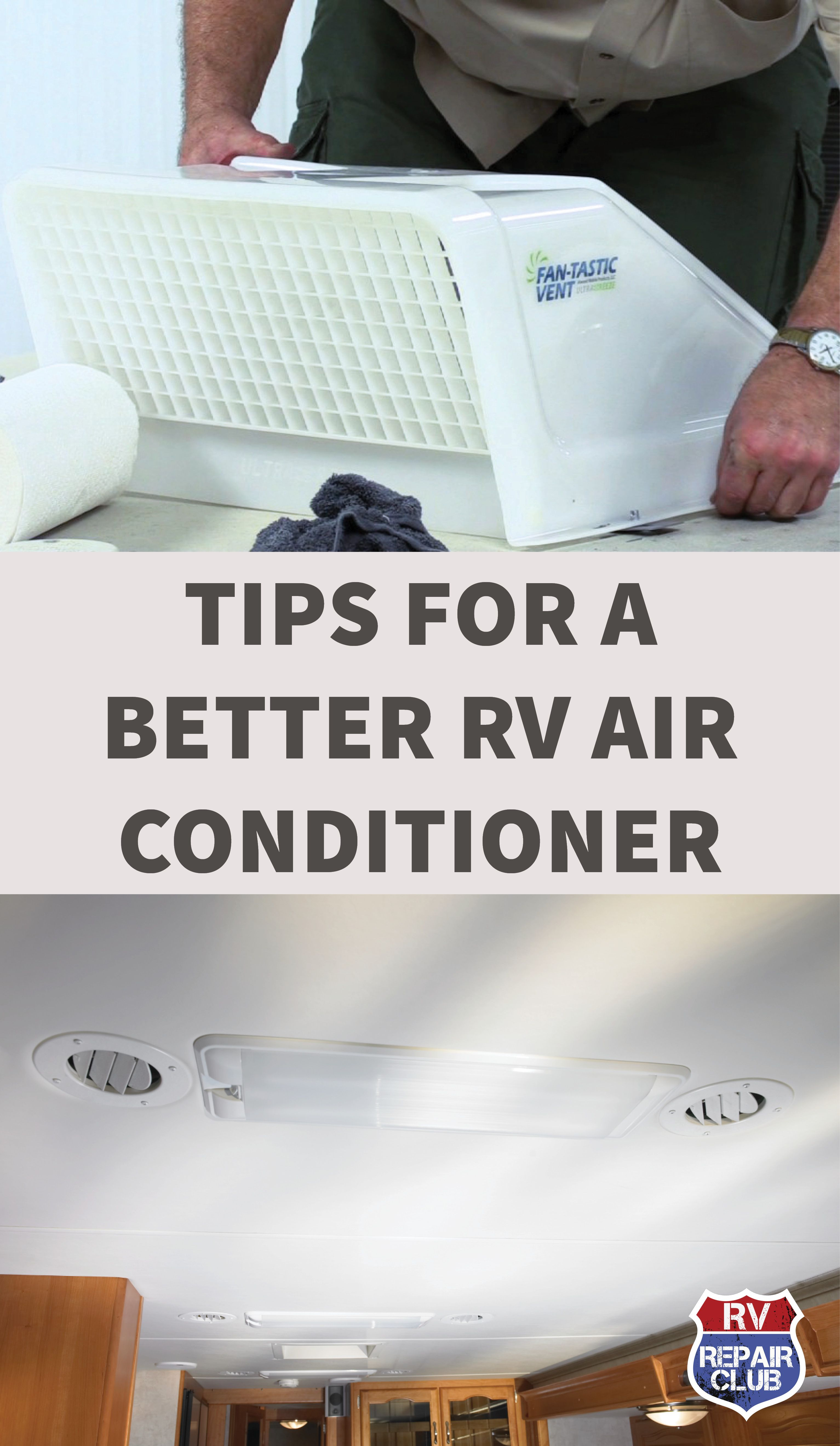 Tips To Make Your Rv Air Conditioner Run More Efficiently Rv Air Conditioner Rv Camping Checklist Rv Camping