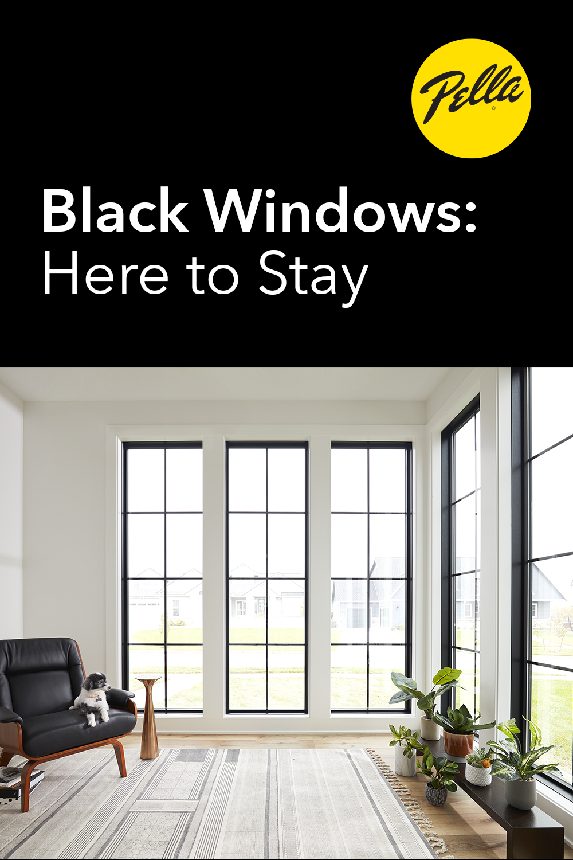 Five Reasons Bold Black Windows Pay Off Black Windows Black Window Frames Windows