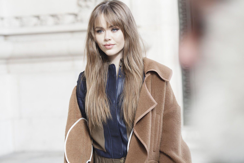 PFW 2 Mars 2016 - Street Style Coiffure de Kristina Bazan #PFW #lorealpfw #hairstyle #kayture