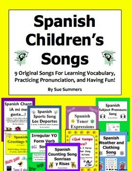 Spanish songs 9 original spanish childrens songs spanish spanish songs 9 original spanish childrens songs by sue summers your students will pick up words and phrases quickly and easily while singing these m4hsunfo