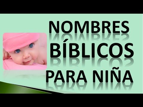nombres biblicos para ni a bonitos nombres biblicos para ni a b blicos baby names names y. Black Bedroom Furniture Sets. Home Design Ideas