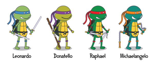 Character Illustration Super Heroes By Gary Lim Via Behance Character Illustration Teenage Mutant Ninja Turtles Ninja Turtles
