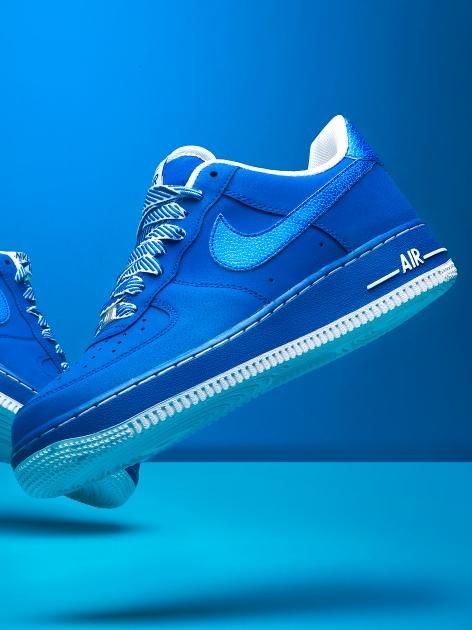 NIKE Air Force 1 Game Royal White | Nike shoes cheap, Adidas