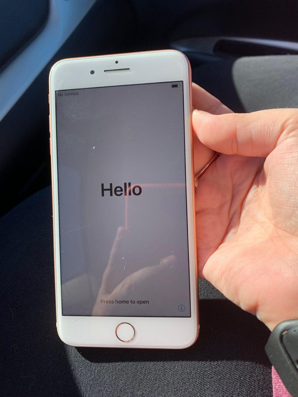 Rose Gold Iphone 8 Plus On Mercari Rose Gold Iphone Iphone Unlock