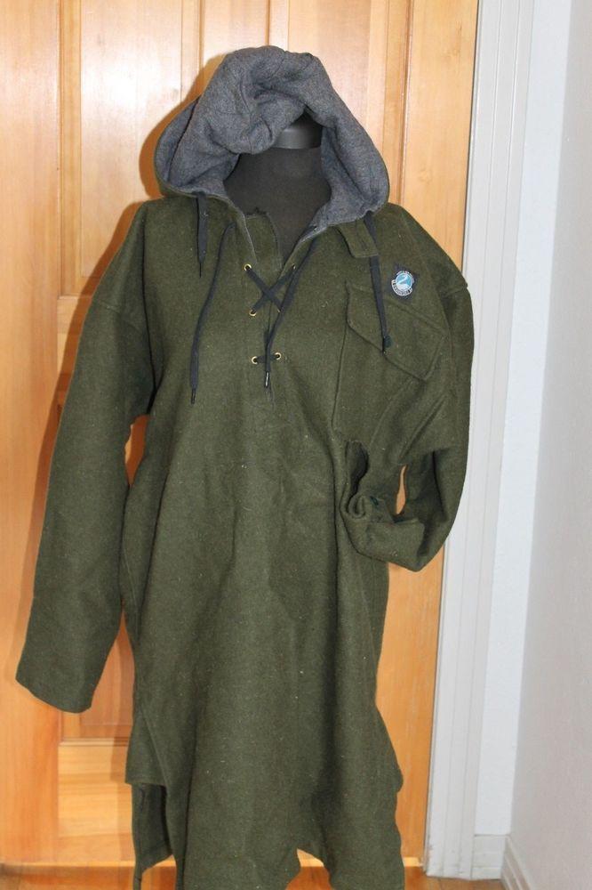 Men S Swanndri New Zealand Wool Army Green Bush Shirt