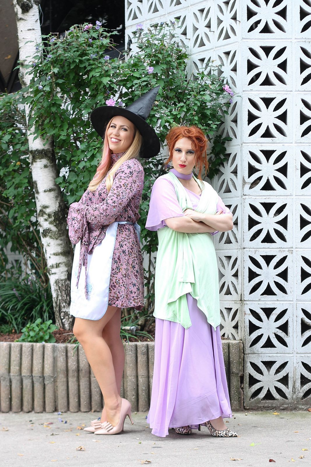 Throwback 60s Halloween Costume Ideas Bewitched TV Series Mother Daughter Modest Costumes  sc 1 st  Pinterest & 4 Affordable Halloween Costumes for You u0026 Your Best Friend | 60s ...