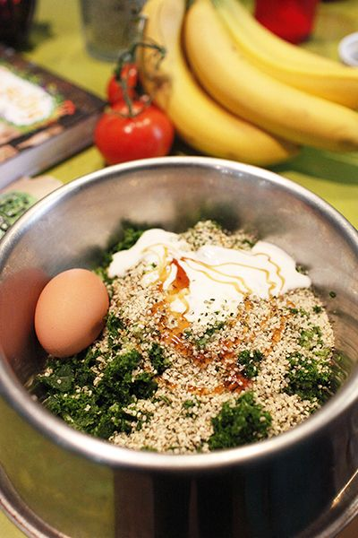 Embracing your best self tara of happy hemp from camillestyles dog food out of kale apples kefir honey and a raw egg camille styles forumfinder Images