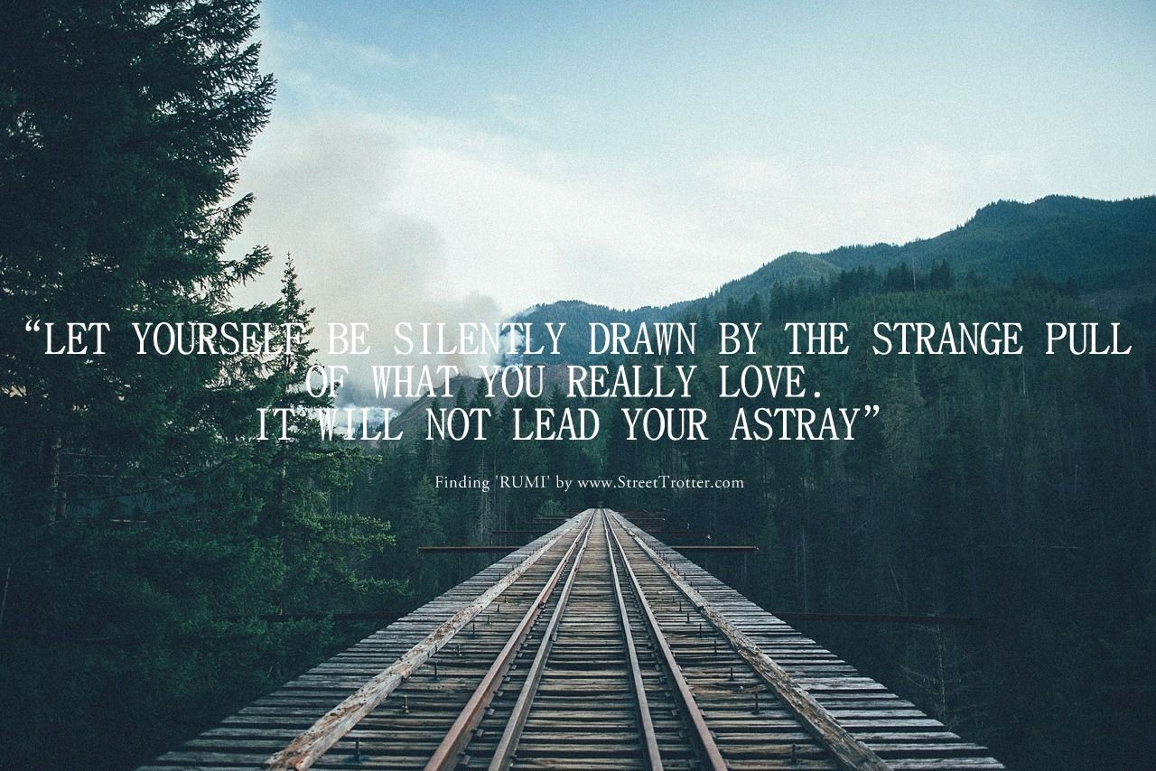 RUMI QUOTE STREETTROTTER TRAVEL QUOTE 1