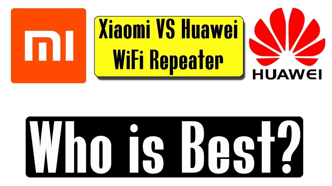 Which one is the best? Xiaomi Mi Repeater 2 VS Huawei WS331a