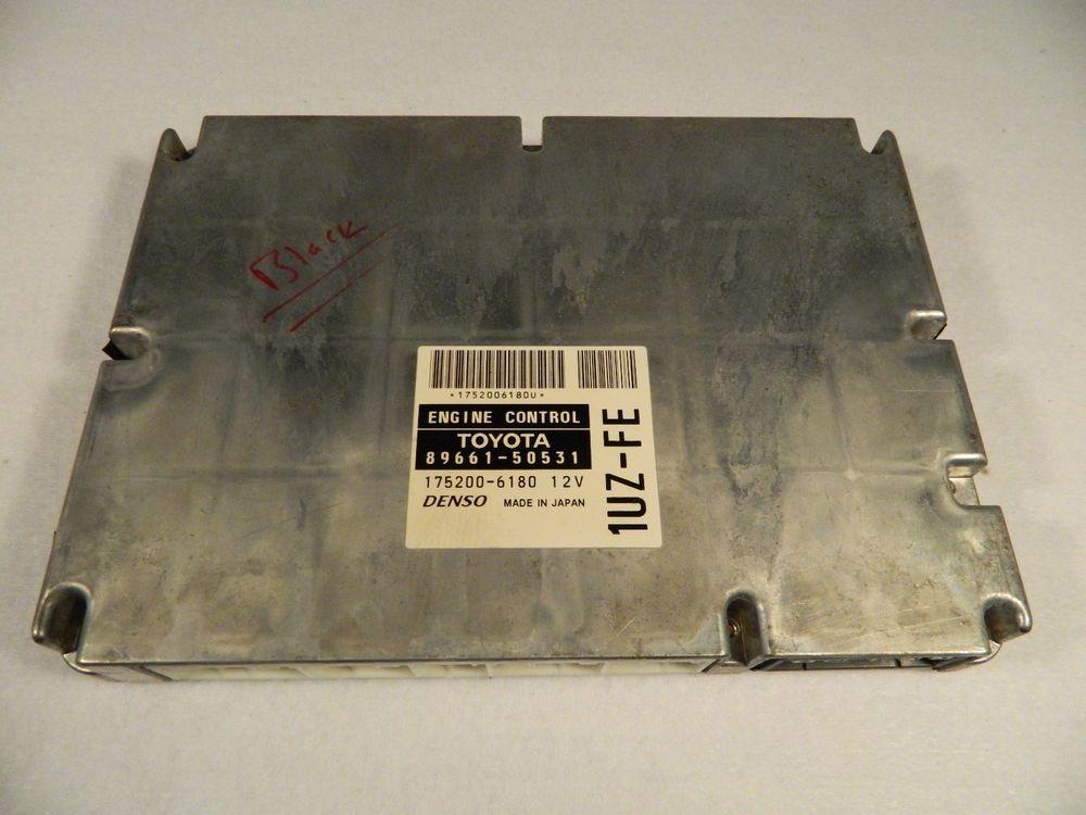 1999 2000 Lexus Ls400 Engine Control Module Ecu Ecm 89661 50531 Denso Lexus Ferrari 288 Gto Ferrari Convertible