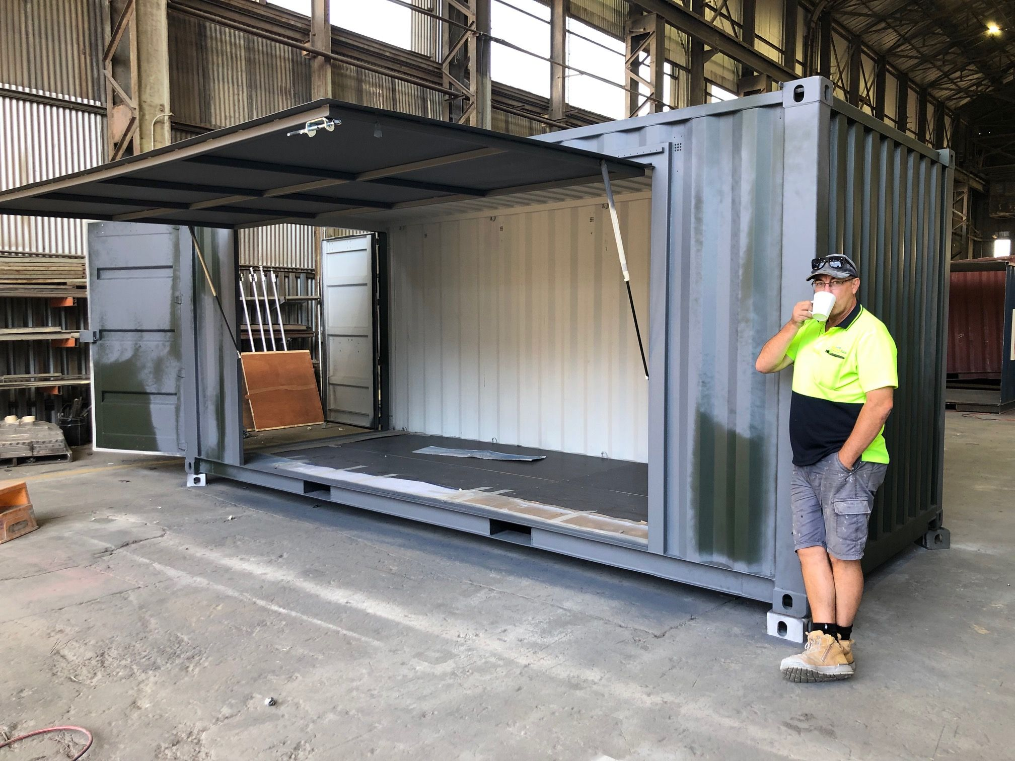 Shipping Containers For Sale In Melbourne Containerspace Shipping Containers For Sale Containers For Sale Shop Building Plans