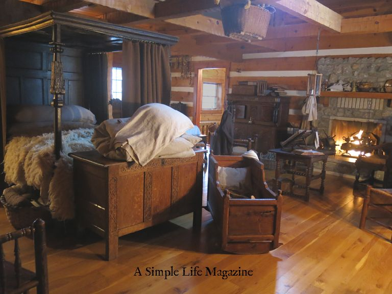 A Simple Life Magazine Sneak Peek 2017 Issue Home Of Marion Atten Country Cabin Primitive Bedroom Cabin Interiors