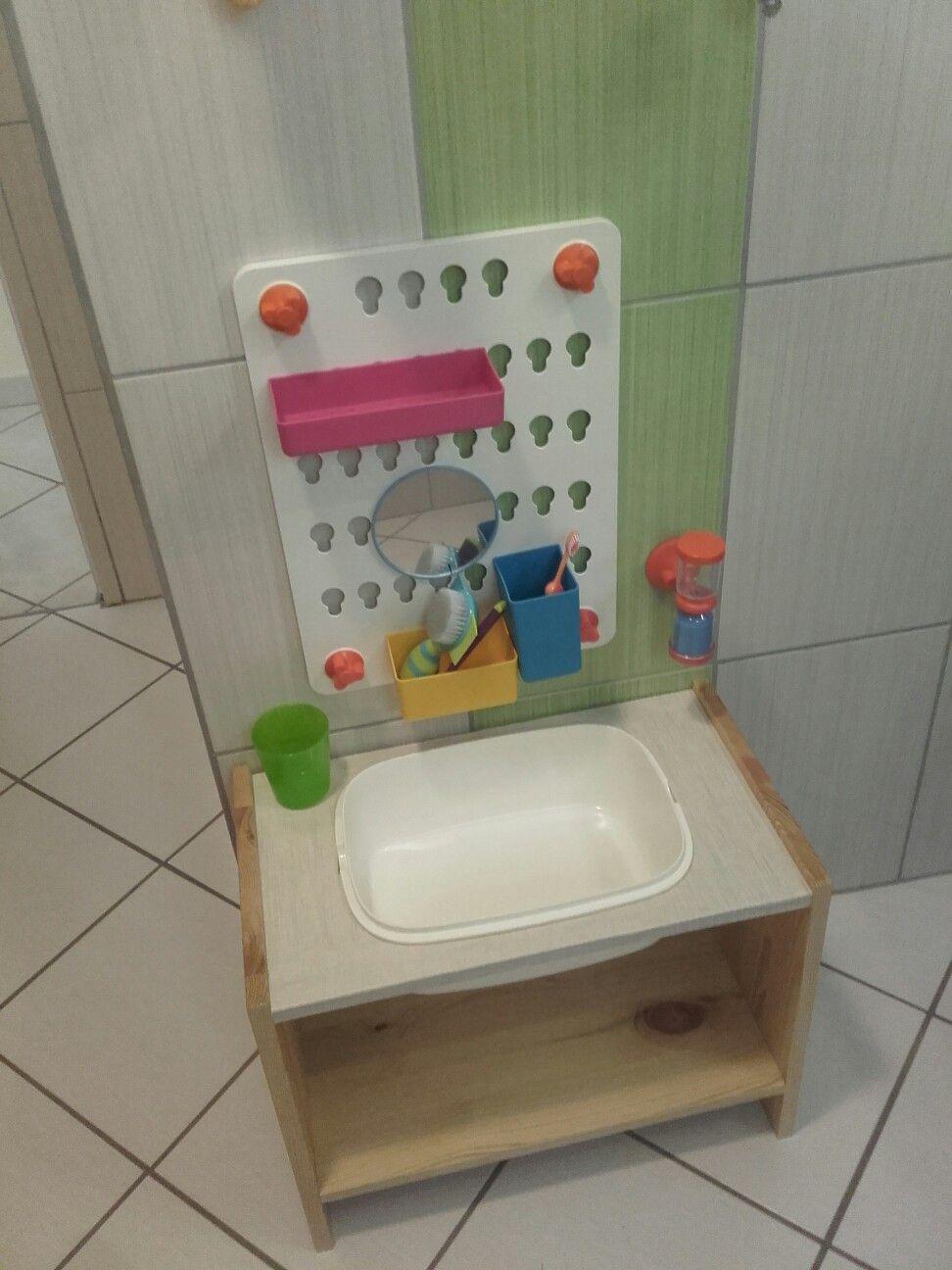 Meuble Salle De Bain Montessori Autonomie De L Enfant Meuble Salle De Bain Salle De Bain Idees Deco Enfant