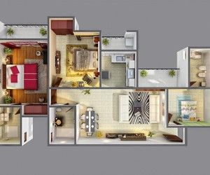 floor plans uploaded by lina on We Heart It