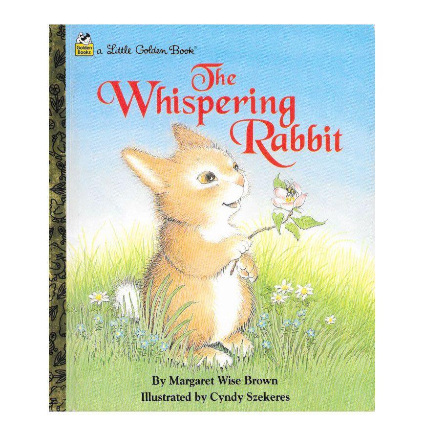 $5.95 | The Whispering Rabbit  | A Little Golden Book | 1990s #scottiebooks #booklovers