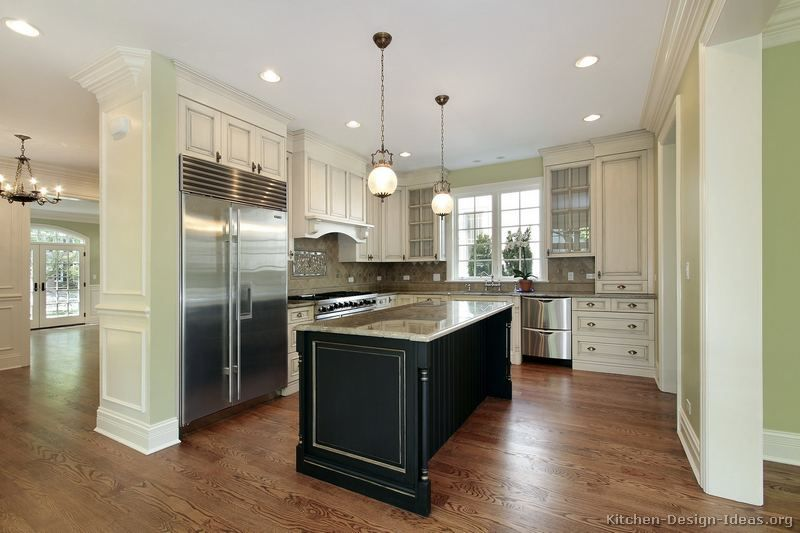 Traditional Antique White Kitchen Cabinets KitchenDesignIdeasorg Stunning Antique Kitchen Design Property