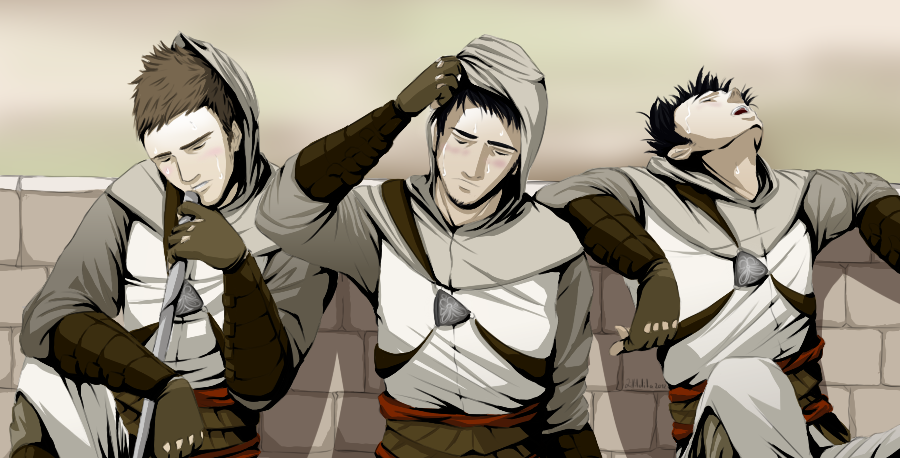 Exhaustion Assassin's creed, Assassins creed art
