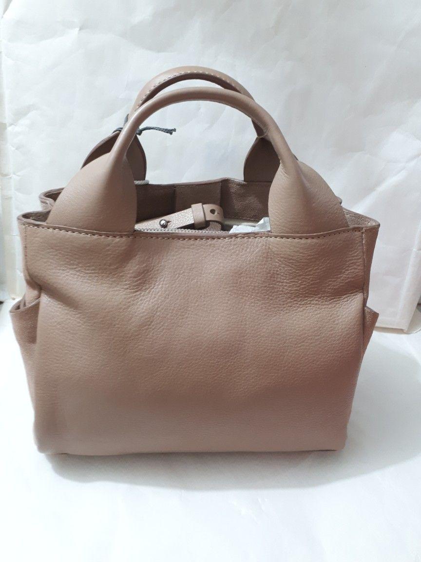 Tan Handbags Cross Body Leather Crossbody Bag Wall Pockets