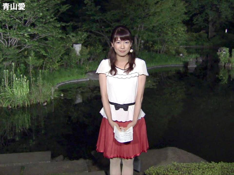 縛られた女性有名人たち : 青山愛 (2) : 女子アナのデカ尻