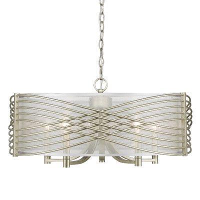 golden lighting zara 5 light drum chandelier lighting ideas