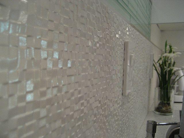 Porcelanosa Cubica Bronco Porcelain Tile As Backsplash