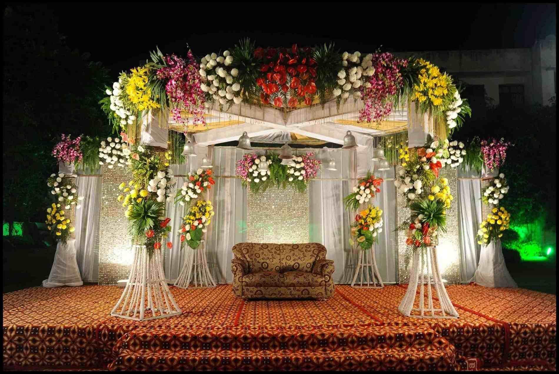 25 Top View Post Simple Stage Flower Decoration Ideas Visit