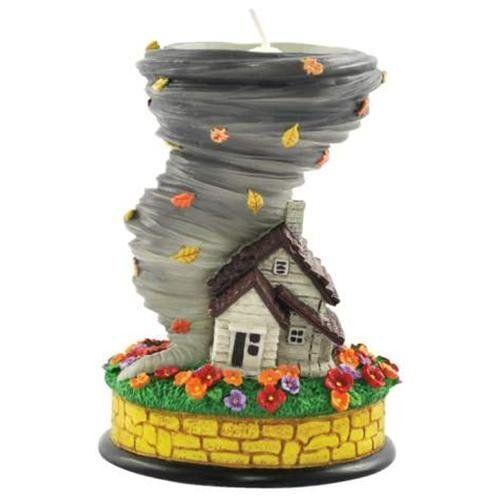 Dorothy's House and Tornado Tealight Holder