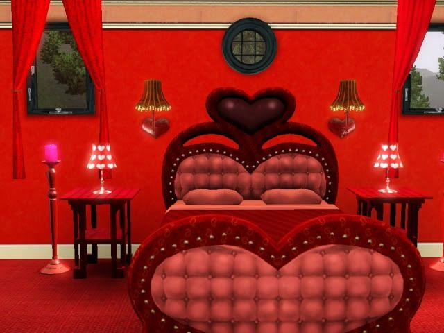 Heart Theme Bed Design Home Decor How To Make Bed