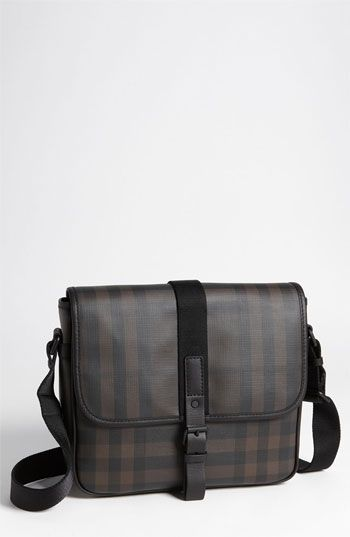 Burberry Check Print Messenger Bag....... One day... (Available at   Nordstrom) 8c31a345249e0