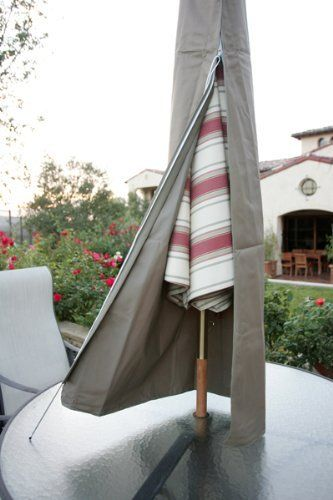Patio Umbrella Cover Fits 7ft To 11ft Umbrellas Patio Umbrella Covers Umbrella Cover Patio Umbrella