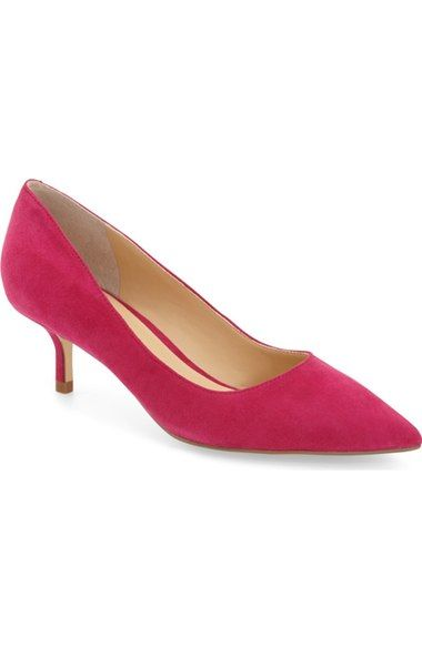 5bcbabf54d Ivanka Trump 'Athyna' Kitten Heel Pump (Women) available at #Nordstrom  Pointed