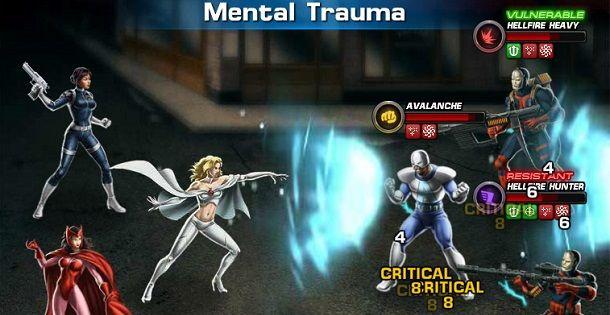 Marvel: Avengers Alliance é um MMO 2D para jogar no navegador feito pela Playdom. Este jogo permite aos jogadores conectarem-se com os seus amigos no Facebook, criando a sua própria equipa de super-heróis da Marvel.