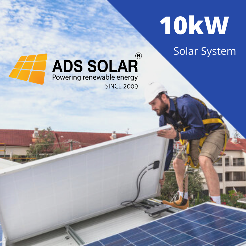10kw Solar Panel System Residential Commercial Solar Ads Solar In 2020 Solar Solutions Solar Power System Solar System