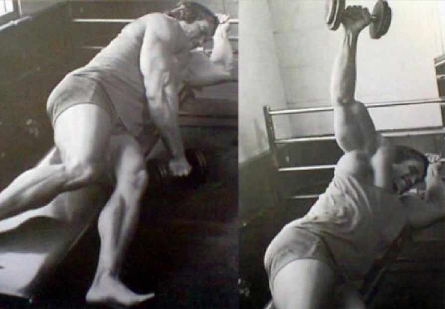 Side lateral raises - Focus intensely on the outer head