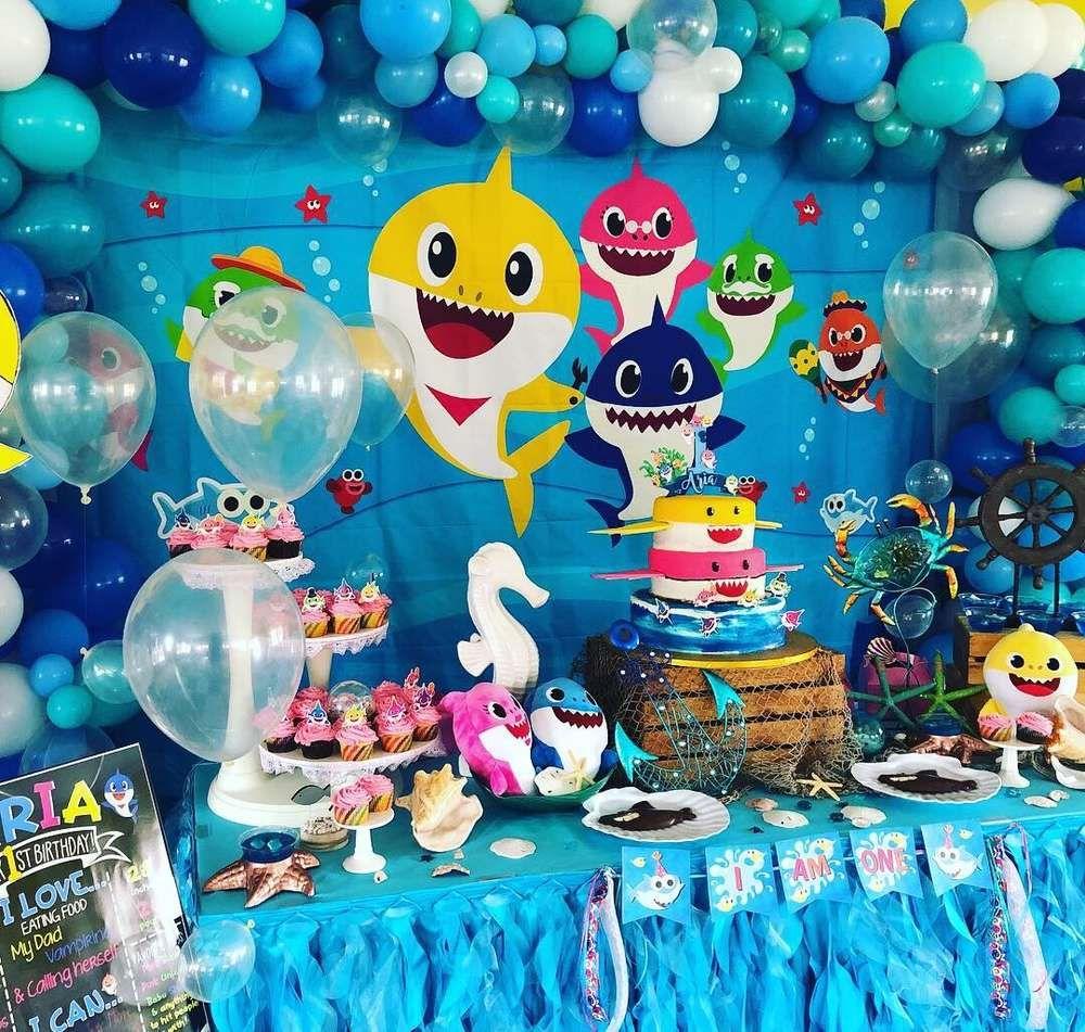 Baby Shark Birthday Party Ideas Photo 9 of 11 Catch My
