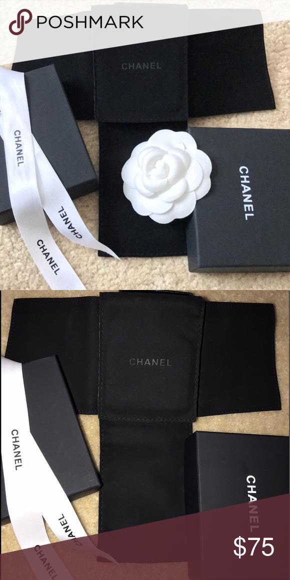 6b2eb5f98913b Chanel jewelry insert,box,ribbon bundle gift pk Chanel jewelry ...